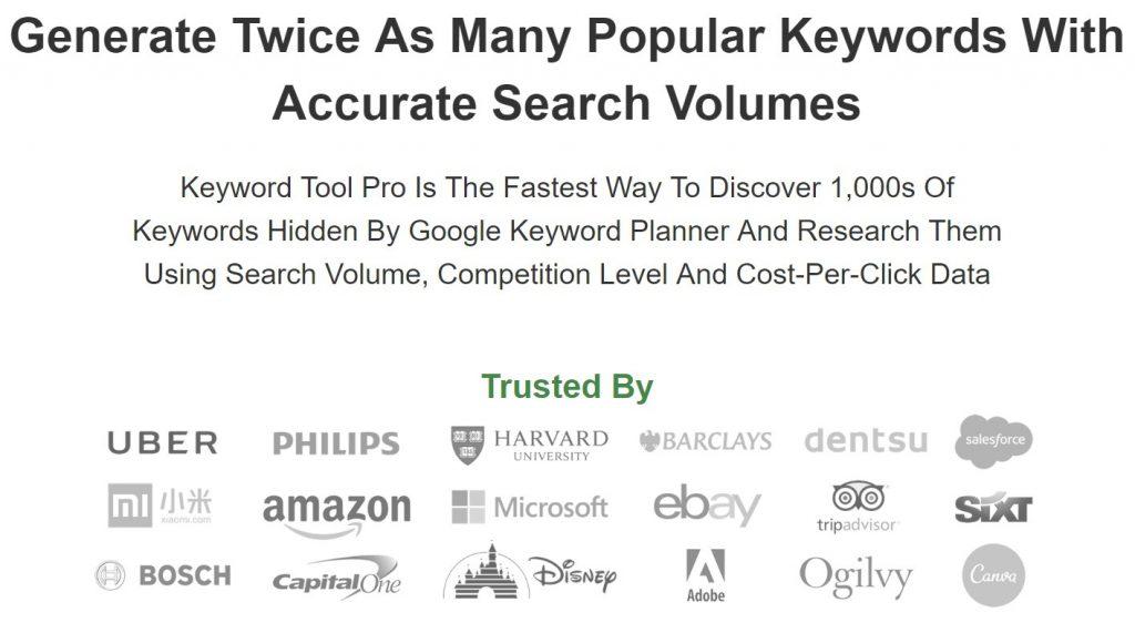 Keyword Tool IO