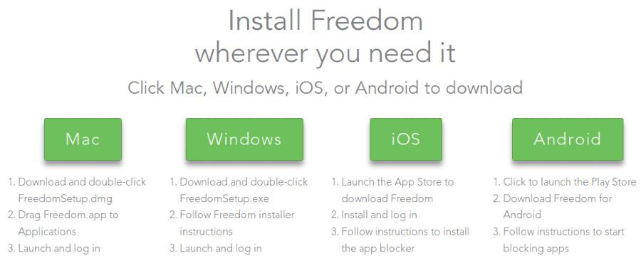 Install Freedom IO