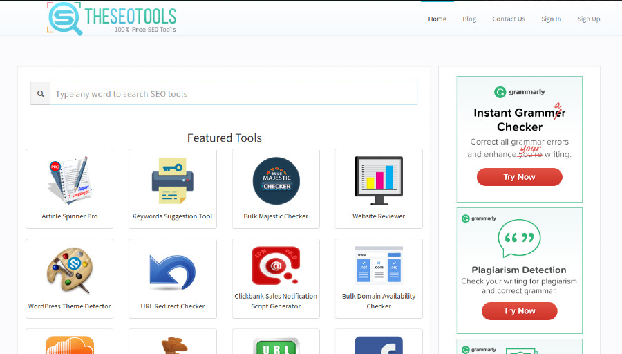 The SEO Tools